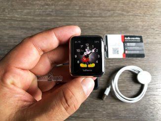 Apple Watch Series 1 สีดำ 42MM GPS เครื่องศูนย์ไทย มือสอง ราคาถูก