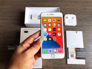iPhone 8 Plus สีขาว 64gb ศูนย์ไทย ครบกล่อง มือสอง ราคาถูก
