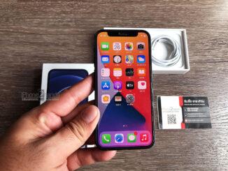 iPhone 12 MINI สีดำ 128gb ศูนย์ไทย ประกันยาวๆ พฤษภาคม 65 ปีหน้า ราคาถูก