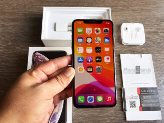 iPhone XS MAX สีทอง 256gb ศูนย์ไทย มือสอง ครบกล่อง ราคาถูก