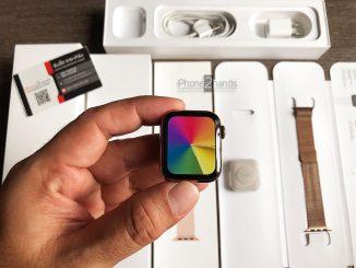 Apple Watch S5 สีทอง 40MM Cellular GPS ครบกล่อง ตัวแพง สภาพมือ 1 ราคาถูก