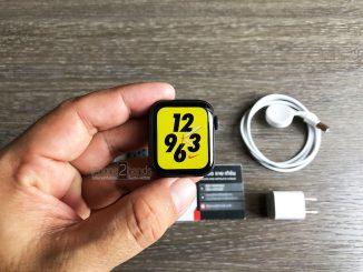 Apple Watch S5 สีดำ Nike 40MM GPS ศูนย์ไทย มือสอง ราคาถูก