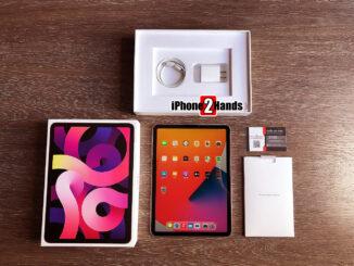 iPad Air 4 สีชมพู 256gb Wifi ศูนย์ไทย ประกันยาวๆ มกราคม 65 ปีหน้า