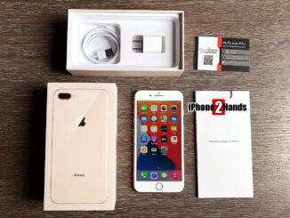 iPhone 8 Plus สีทอง 64gb ศูนย์ไทย มือสอง ราคาถูก