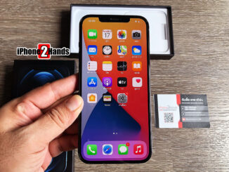 iPhone 12 Pro MAX สี Pacific Blue 256gb ศูนย์ไทย มือสอง ราคาถูก ประกันเหลือ