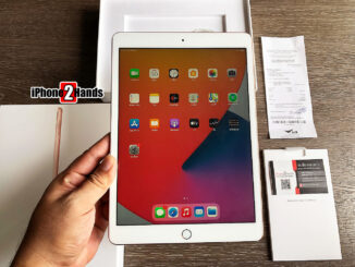 iPad Gen 8 สีทอง 32gb Wifi ประกันยาวๆ เมษายน 65 ปีหน้า พร้อมใบเสร็จ ราคาถูก