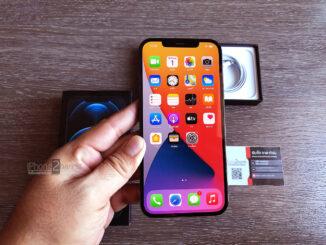 iPhone 12 Pro Max สี Pacific Blue 256gb ศูนย์ไทย ประกันยาวๆ 11 เดือน ราคาถูก