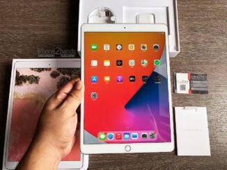 iPad Pro 10.5 สีทอง 256gb Cellular Wifi ศูนย์ไทย มือสอง ราคาถูก