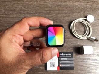 Apple Watch S4 สีดำ 44MM GPS ศูนย์ไทย มือสอง ราคาถูก