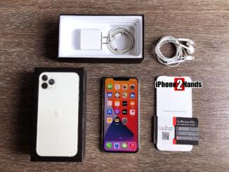 iPhone 11 Pro Max สี Silver 64gb ศูนย์ไทย ครบกล่อง มือสอง ราคาถูก