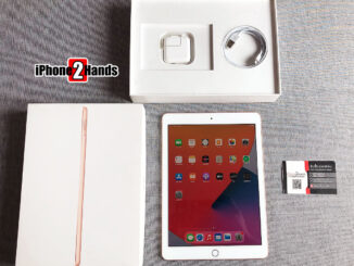 iPad Gen 6 สีทอง 32GB Wifi เครื่องศูนย์ iStudio ครบกล่อง มือสอง ราคาถูก