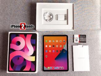 iPad Air 4 สีชมพู 64gb Wifi ศูนย์ไทย ประกันยาวๆ 12 กรกฎาคม 65 ปีหน้า ราคาถูก อายุ 2 วัน