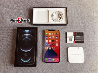 iPhone 12 Pro Max สี Silver 256gb ศูนย์ไทย มือสอง ประกันเหลือ ราคาถูก
