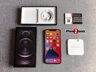 iPhone 12 Pro Max สีดำ 128gb ศูนย์ไทย ประกันยาวๆ กุมภาพัน 65 ปีหน้า ราคาถูก
