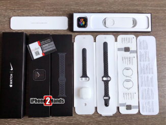 Apple Watch SE Nike สีดำ 40MM GPS ประกันยาวๆ 22 มกราคม 65 ปีหน้า มือสอง ราคาถูก