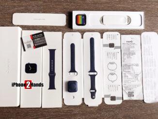 Apple Watch S6 สีน้ำเงิน 44MM GPS Cellular ประกันยาวๆ 11 เดือน พร้อมใบเสร็จ