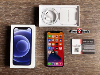 iPhone 12 Mini สีดำ 256gb ศูนย์ไทย มือ 1 ประกันยาวๆ 1 ปี ราคาถูก ประหยัดเป็นหมื่น