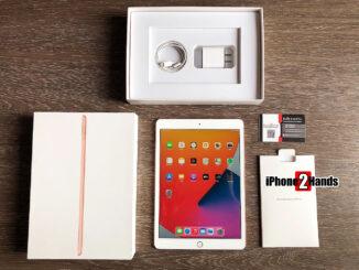 iPad Gen 8 สีทอง 32GB Wifi ครบกล่อง สภาพมือ 1 ราคาถูก ติดกระจกพร้อมใช้งาน