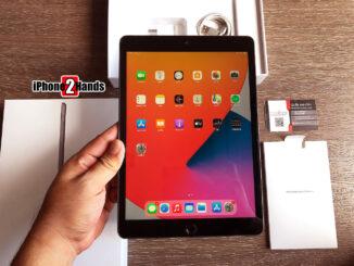 iPad Gen 8 สีดำ 32gb Wifi ประกันยาวๆ มกราคม 65 ปีหน้า ราคาถูก