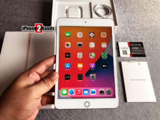 iPad Mini 5 สีทอง 256gb Cellular Wifi ศูนย์ไทย ครบกล่อง ประกันเหลือ ราคาถูก