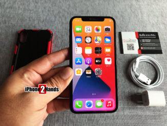 iPhone X สีดำ 64gb เครื่องศูนย์ไทย มือสอง ราคาถูก