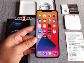 iPhone 12 Pro Max สีน้ำเงิน 128gb ประกันยาวๆ 29 มกราคม 65 ปีหน้า พร้อมใบเสร็จ