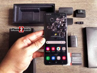 Samsung Galaxy S20 Ultra 5G สี Cosmic Black 128gb ศูนย์ไทย มือสอง ราคาถูก