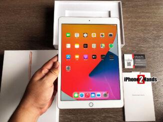 iPad Gen 8 สีทอง 32gb Wifi ศูนย์ไทย ประกันเหลือ ราคาถูก