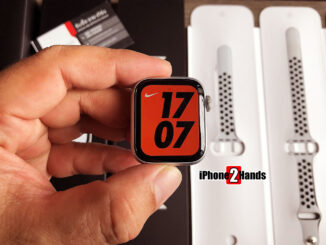 Apple Watch SE Nike สี Silver 40MM ประกันยาวๆ 10 เดือน ราคาถูก