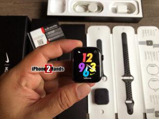Apple Watch Series 5 Nike สีดำ GPS Cellular ศูนย์ไทย มือสอง ราคาถูก