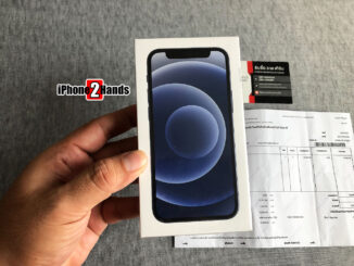 iPhone 12 Mini สีดำ 64gb ศูนย์ไทย มือ 1 ยังไม่แกะซีล ประกันเต็มๆ 1 ปี ราคาถูกมาก