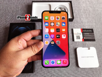iPhone 12 Pro Max สีน้ำเงิน 256gb ศูนย์ไทย ประกันยาวๆ มกราคม 65 ปีหน้า ราคาถูก