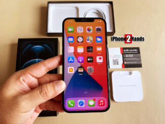 iPhone 12 Pro Max สีน้ำเงิน 256gb ประกันยาวๆ มีนาคม 65 ปีหน้า ราคาถูก
