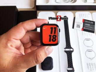 Apple Watch S4 Nike สีดำ 44MM GPS ศูนย์ไทย มือสอง ราคาถูก