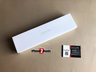 Apple Watch Sereis 6 สีดำ 44MM GPS มือ 1 ยังไม่แกะซีล ประกันเต็มๆ 1 ปี ราคาถูก