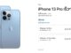 ราคา iPhone 13 pro และ iPhone 13 Pro Max ในประเทศไทย และวันที่วางจำหน่าย