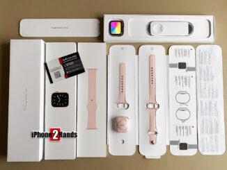 Apple Watch S6 สีชมพู 40MM GPS ประกันยาวๆ มิถุนายน 65 ราคาถูก