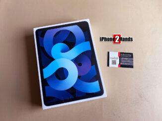 ขาย iPad Air 4 สี Sky Blue เครื่องศูนย์ไทย มือ 1 ยังไม่แกะซีล ประกันเต็มๆ 1 ปี ราคาถูก