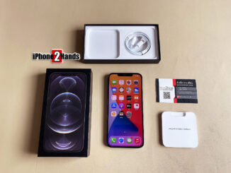 iPhone 12 Pro Max สีดำ 128gb ศูนย์ไทย มือสอง ราคาถูก ประกันยาวๆ 27 เมษายน 65 ปีหน้า