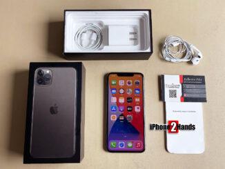 iPhone 11 Pro Max สีดำ 64gb ศูนย์ไทย มือสอง ประกันเหลือ ราคาถูก