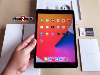 iPad Gen 8 สีดำ 32gb Cellular Wifi ประกันยาวๆ 30 มีนาคม 65 ปีหน้า ราคาถูก