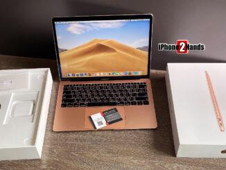ขาย Macbook Air 13 2018 สีชมพู 128gb แรม 8 ศูนย์ไทย Thai Eng อุปกรณ์ครบกล่อง