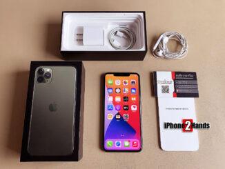 ขาย iPhone 11 Pro Max สีเขียว 64gb ศูนย์ไทย อุปกรณ์ครบกล่อง มือสอง ราคาถูก