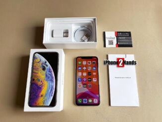 ขาย iPhone XS สี Silver 64gb เครื่องศูนย์ไทย มือสอง ราคาถูก