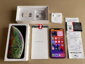 ขาย iPhone XS MAX สีดำ 256gb ศูนย์ไทย ครบกล่อง มือสอง ราคาถูก