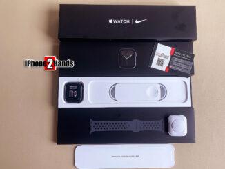 ขาย Apple Watch Seires 6 สีดำ Nike 44MM Cellular GPS มือ 1 ประกันเต็มๆ 1 ปี ราคาถูก