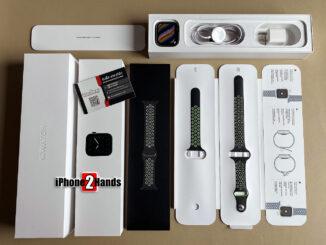 ขาย Apple Watch S5 สีดำ ตัวแสตนเลส รุ่น TOP 44MM Cellular GPS มือสอง ราคาถูก