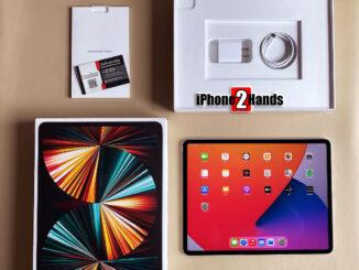ขาย iPad Pro 12.9 ตัวใหม่ล่าสุด 2021 สี Silver 128gb Wifi ศูนย์ไทย ประกัน ตุลา 65 ปีหน้า