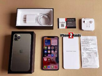 ขาย iPhone 11 Pro Max สีเขียว 256gb ศูนย์ไทย ครบกล่อง มือสอง ราคาถูก ใบเสร็จพร้อม