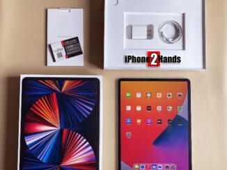 ขาย iPad Pro 12.9 ตัวใหม่ 2021 M1 สีดำ 128gb Cel Wifi ประกัน 27 สิงหาคม 65 ราคาถูก